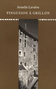 Armelle Lavalou - Pingusson à Grillon.