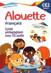 Armelle Vautrot - Français CE2 Alouette - Guide pédagogique. 1 CD audio