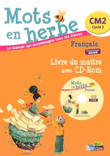 Francais Cm2 Mots En Herbe Livre Du Maitre Programmes 2008