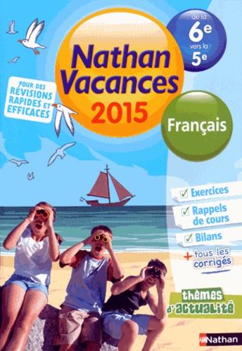 Nathan Vacances Francais De Le 6e A La 5e