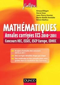 Mathématiques - Annales corrigées ECS 2010-2011, concours HEC, ESSEC, ESCP-EAP, EDHEC.pdf