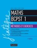 Arnaud Bégyn et Guillaume Connan - Maths BCPST 1 Méthodes et Exercices.