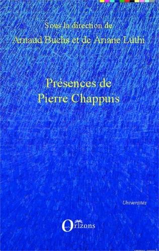 Arnaud Buchs et Ariane Lüthi - Présences de Pierre Chappuis.