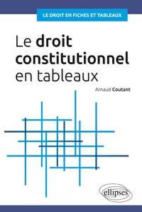 Arnaud Coutant - Le droit constitutionnel en tableaux.