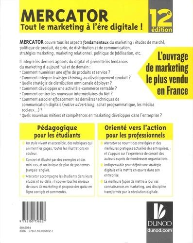 Mercator. Tout le marketing à l'ère digitale ! 12e édition