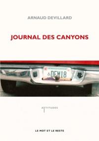 Arnaud Devillard - Journal des canyons.