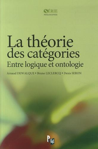 La théorie des catégories. Entre logique et ontologie