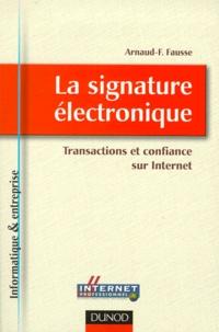 Ucareoutplacement.be La signature électronique. Transactions et confiance sur Internet Image