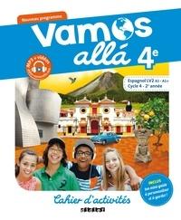 Téléchargeurs de livres Google Espagnol 4e Vamos alla  - Cahier d'activités
