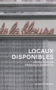 Arnaud Le Gouëfflec - Locaux disponibles.