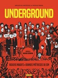 Arnaud Le Gouëfflec et Nicolas Moog - Underground - Rockers maudits & Grandes prêtresses du son.