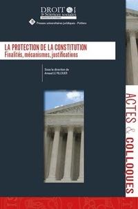 Arnaud Le Pillouer - La protection de la constitution - Finalités, mécanismes, justifications.