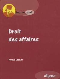 Arnaud Lecourt - Droit des affaires.