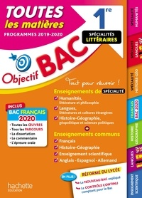 Arnaud Léonard et Laurence Teper - 1re Enseignements communs + Spécialités Lettres-Langues-Histoire-géo BAC 2020.