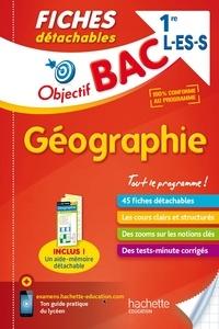 Arnaud Léonard - Fiches détachables géographie 1res L/ES/S.