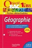Arnaud Léonard - Géographie 1e L/ES/S - Fiches détachables.