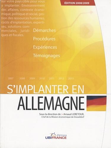 Arnaud Leretour - S'implanter en Allemagne.