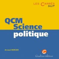 Arnaud Mercier - QCM science politique.