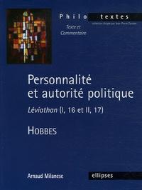 Personnalité et autorité politique - Léviathan (I, 16 et II, 17), Thomas Hobbes.pdf
