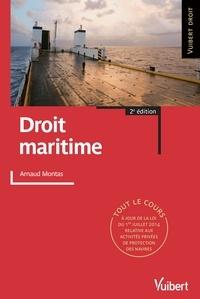 Arnaud Montas - Droit maritime.
