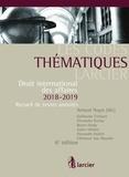 Arnaud Nuyts et Guillaume Croisant - Droit international des affaires - Recueil de textes annotés - Pack en 2 volumes dont un complément pour la région flamande.