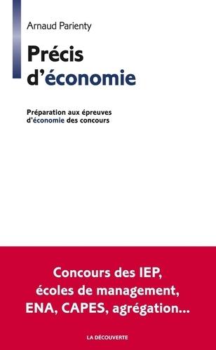 Précis d'économie. Prépration aux épreuves d'économie du concours