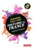Arnaud Pautet - Histoire de France d'Alésia à nos jours - Chronologie 1 date - 1 carte.