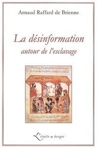 Arnaud Raffard de Brienne - La désinformation autour de l'esclavage.
