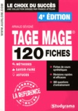 Arnaud Sévigné - TAGE MAGE - 120 fiches méthodes, savoir-faire et astuces.