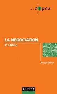 Arnaud Stimec - La négociation - 2e édition.