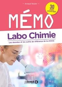 Arnaud Tessier - Labo chimie - Les données et les outils de référence de la chimie.
