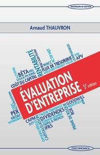Arnaud Thauvron - Evaluation d'entreprise.