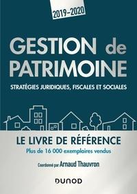 Arnaud Thauvron - Gestion de patrimoine - Stratégies juridiques, fiscales et sociales.