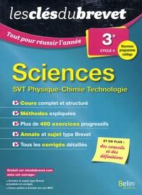 Arnaud Van-Praët et Mélanie Joubel - Sciences 3e cycle 4 - SVT Physique-Chimie Technologie.