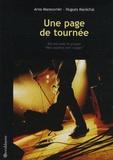 Arno Maneuvrier - Une page de tournée.