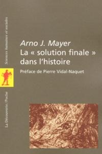 Arno Mayer - .