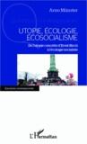 Arno Münster - Utopie, écologie, écosocialisme - De l'utopie concrète d'Ernst Bloch à l'écologie socialiste.