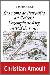 Arnoult Christian - Les noms de lieux-dits du Loiret : l'exemple de Dry en Val de Loire.