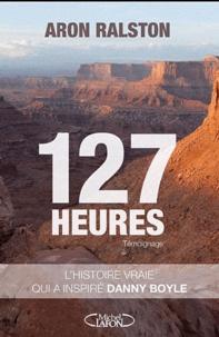 Aron Ralston - 127 heures.