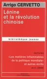 Arrigo Cervetto - Lénine et la révolution chinoise.