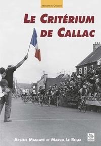 Arsène Maulavé et Marcel Le Roux - Le Critérium de Callac.