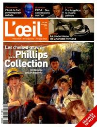 Philippe Piguet et Sophie Flouquet - L'Oeil N° 575, Décembre 200 : Les chefs-d'oeuvre de la Phillips Collection.