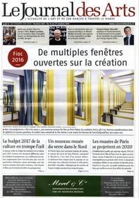 Jean-Christophe Castelain - Le Journal des Arts N° 465, du 14 au 27  : De multiples fenêtres ouvertes sur la création.