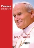 Artège - Prières en poche de Jean-Paul II.
