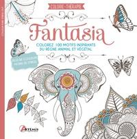 Artémis - Fantasia - Colorez 100 motifs inspirant du règne animal et végétal.