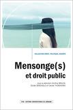 Arthur Braun et Elodie Derdaele - Mensonge(s) et droit public.