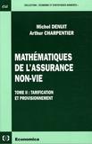 Arthur Charpentier et Michel Denuit - Mathématiques de l'assurance non-vie - Tome 2, Tarification et provisionnement.