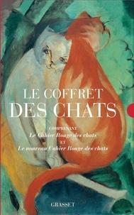 Arthur Chevallier - Le coffret des chats - Comprenant le Cahier rouge des chats et le nouveau Cahier rouge des chats.