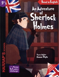 Arthur Conan Doyle et Pascal Phan - An Adventure of Sherlock Holmes : The Speckled Band - 5e.