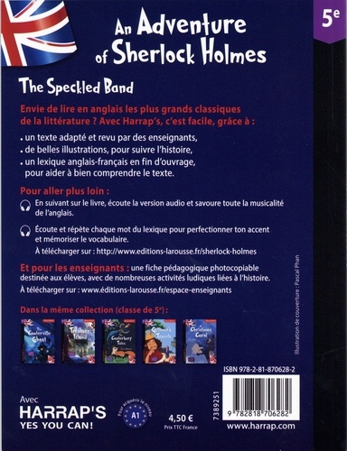An Adventure of Sherlock Holmes : The Speckled Band. 5e
